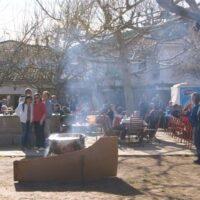 Camping Prados Abiertos en Gredos Fiesta de la matanza y caldereta