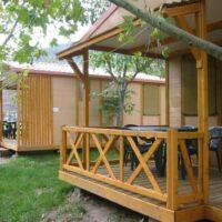 Camping Prados Abiertos en Gredos bungalow