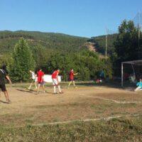 Camping Prados Abiertos en Gredos futbol