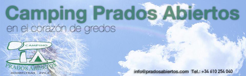 ✅ Camping Prados Abiertos en Ávila